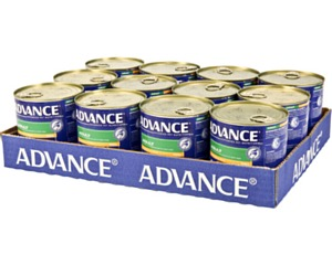 ADVANCE CHICKEN TURKEY & RICE 700G X 12